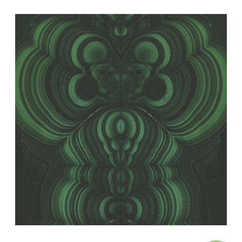Malachite Paper Charger/ Placemat- Set of 30