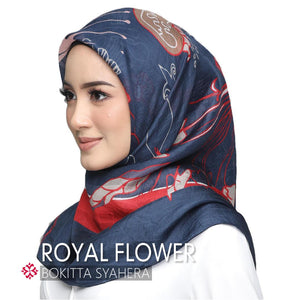 Silk Royal Flower - BOKITTA SYAHERA