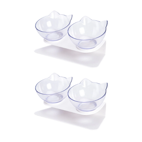 (2 Pack) Cat Bowl