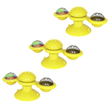 (3 Pack) Cat Windmill Toy