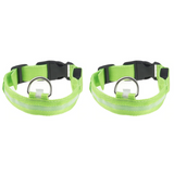 2 Pack - LED Dog Collar