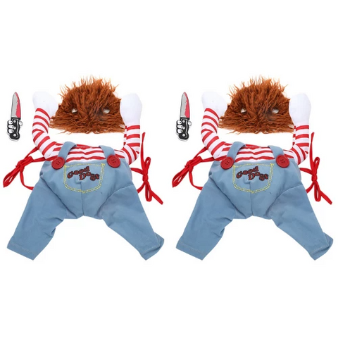 (2 Pack) - Halloween Dog Costume