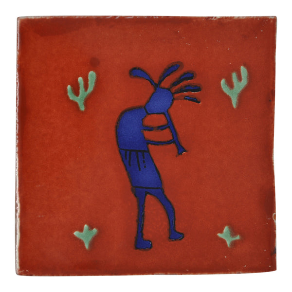 """Arte Mexicano"" Tile Collection - 25 x 10.5cm Assorted Talavera Mexican Handmade Tiles"