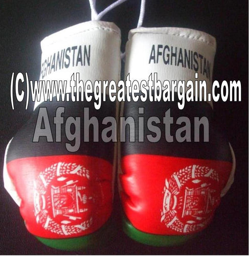 Afghanistan Flag Mini Boxing Gloves