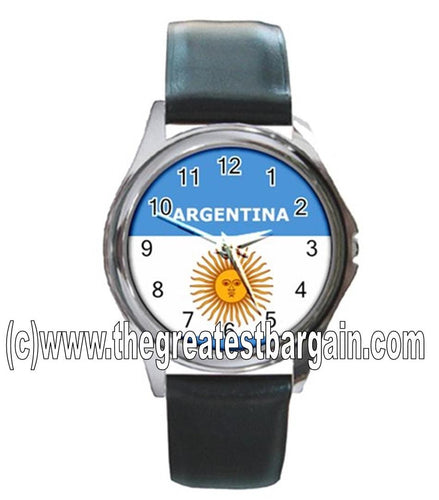 Argentina Flag Unisex Watch