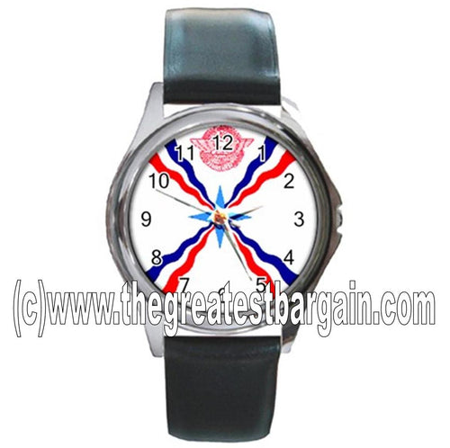 Assyrian Flag Unisex Watch