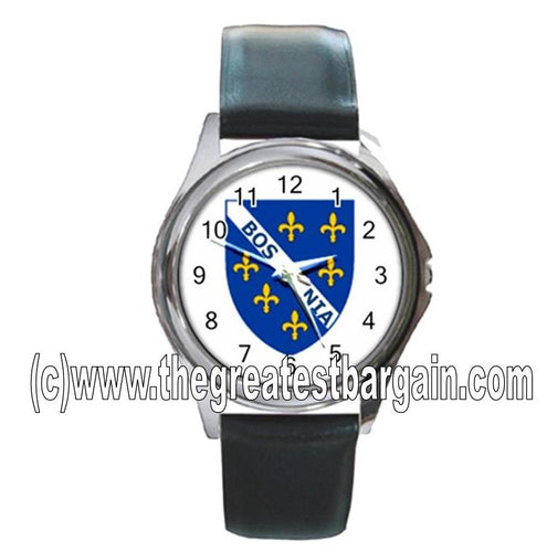 Bosnia Flag Unisex Watch