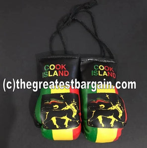 Cook Islands Reggae Mini Boxing Gloves