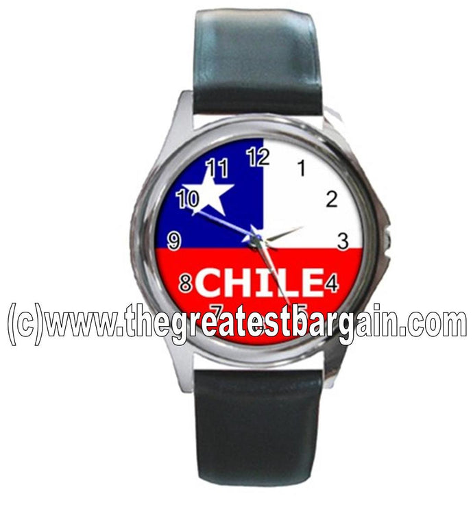 Chile Flag Unisex Watch