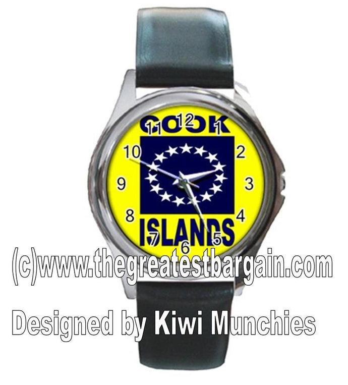 Cook Island Flag Unisex Watch-1