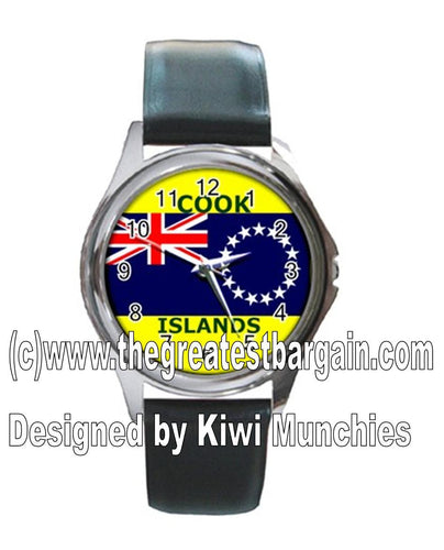 Cook Island Flag Unisex Watch-2