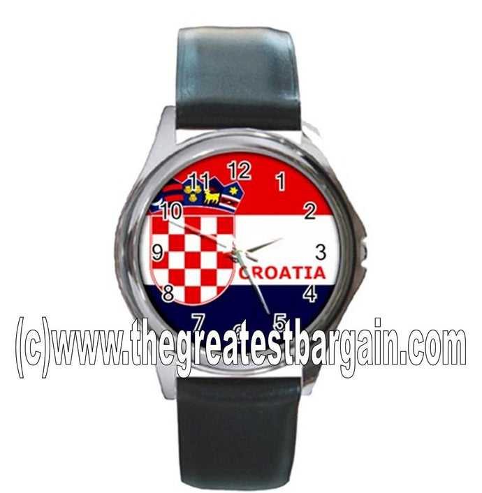 Croatia Flag Unisex Watch