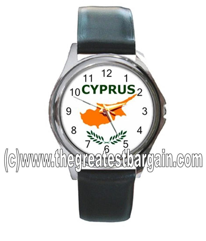 Cyprus Flag Unisex Watch