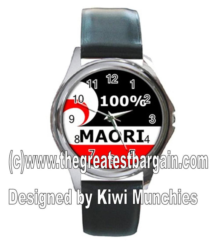 New Zealand Maori 100% Unisex Watch