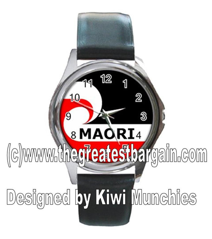New Zealand Maori Flag Unisex Watch