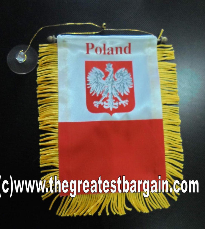 Poland Mini Car Banner