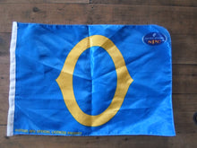 Load image into Gallery viewer, Otago Rugby Flag Handwaver size. 30 cm x 45 cm without stick.