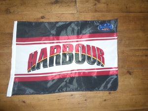 North Harbour Rugby Flag Handwaver size. 30 cm x 45 cm without stick.
