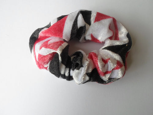 Scrunchie-Maori Design soft material.