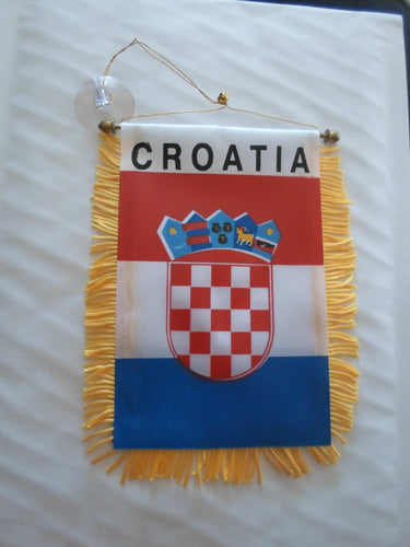 Croatia Mini Car Banner