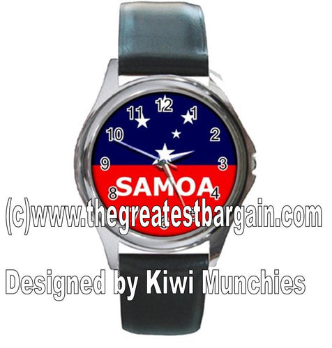 Samoa Flag Unisex Watch
