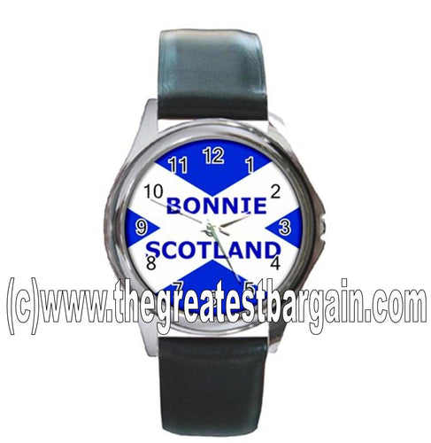 Scotland St.Andrews Flag Unisex Watch