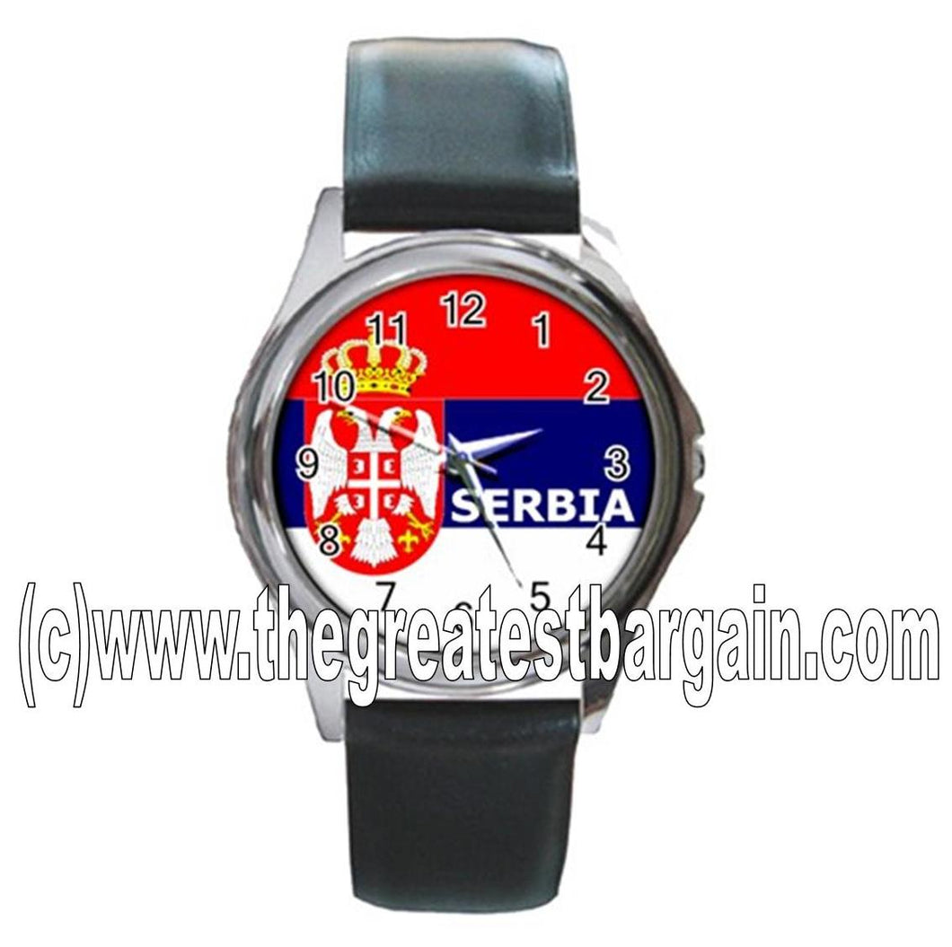 Serbia Flag Unisex Watch