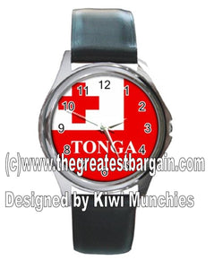 Tonga Flag Unisex Watch