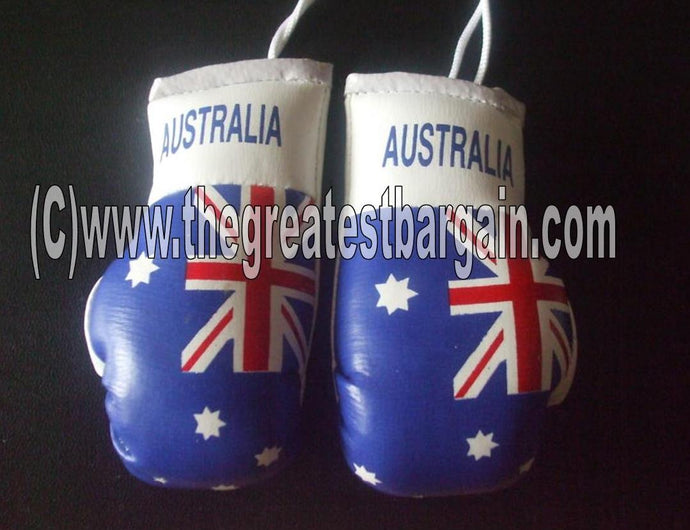Australia Flag Mini Boxing Gloves
