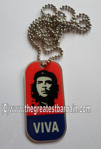 Che' ID/Dog Tag double sided with chain Necklace