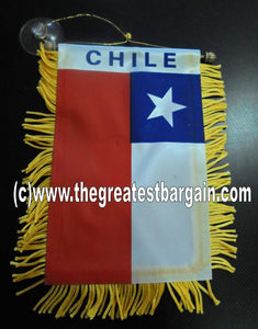 Chile Mini Car Banner