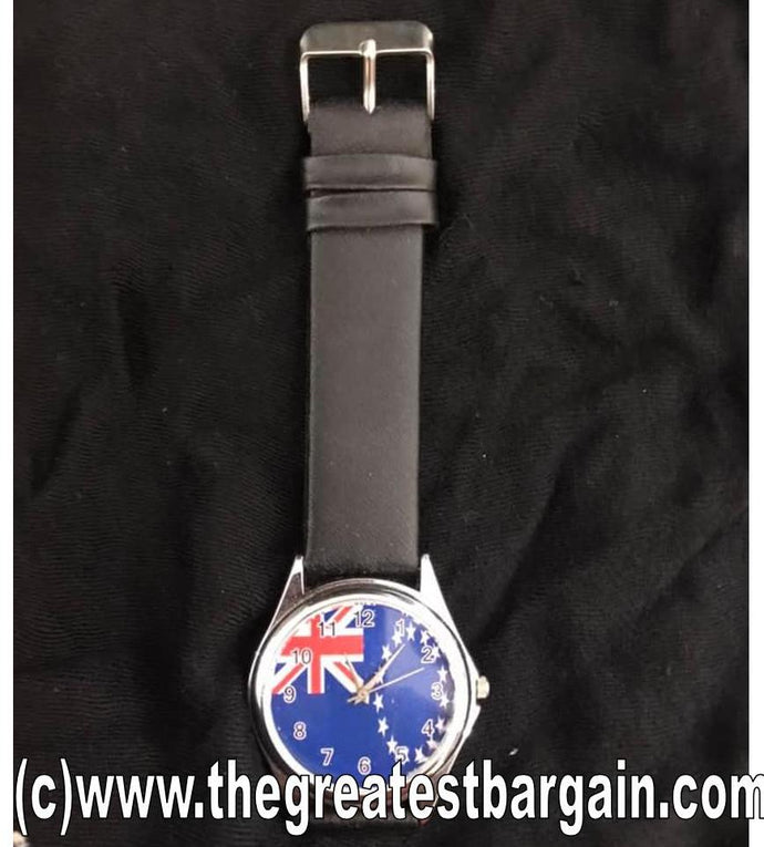 Cook Island Flag Unisex Watch-3