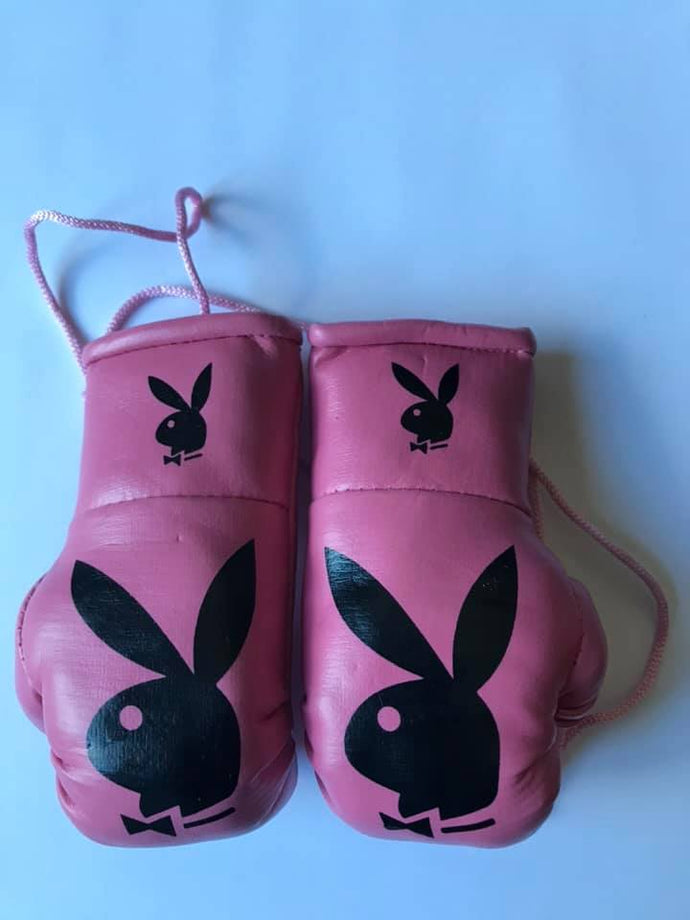 Playboy Dark Pink Mini Boxing Gloves