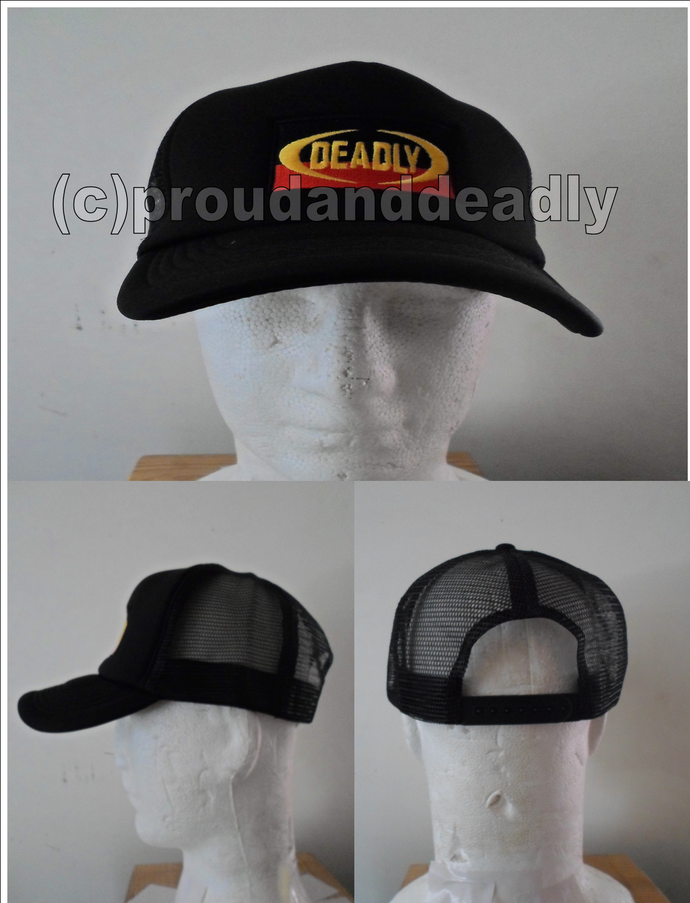 Deadly Trucker Cap. Proud and Deadly