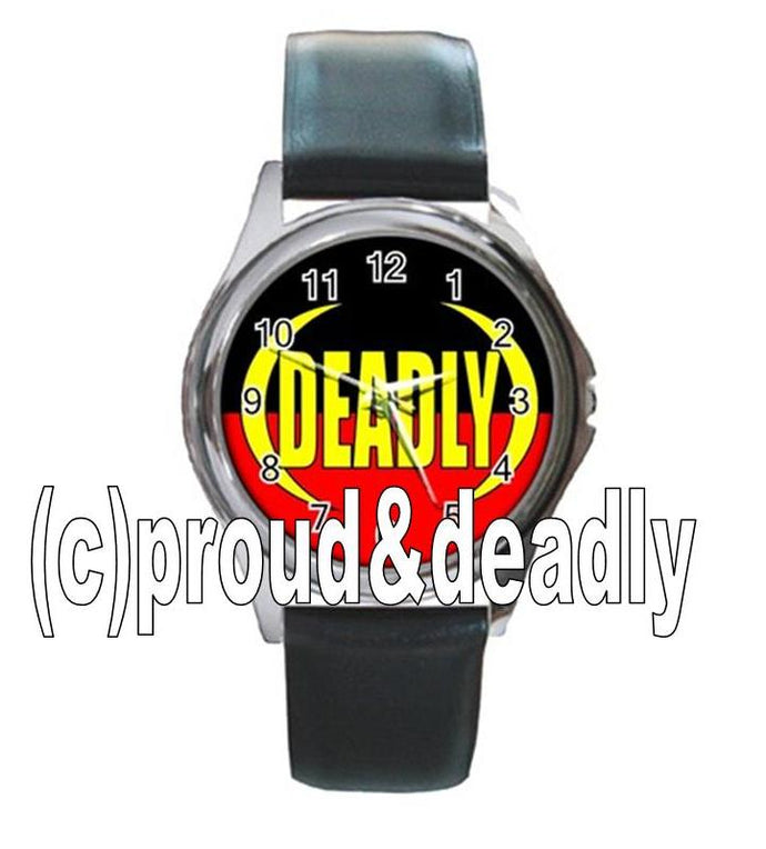 Indigenous  Deadly Unisex Watch