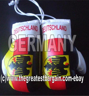 Germany Flag Mini Boxing Gloves