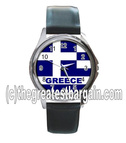 Greece Flag Unisex Watch