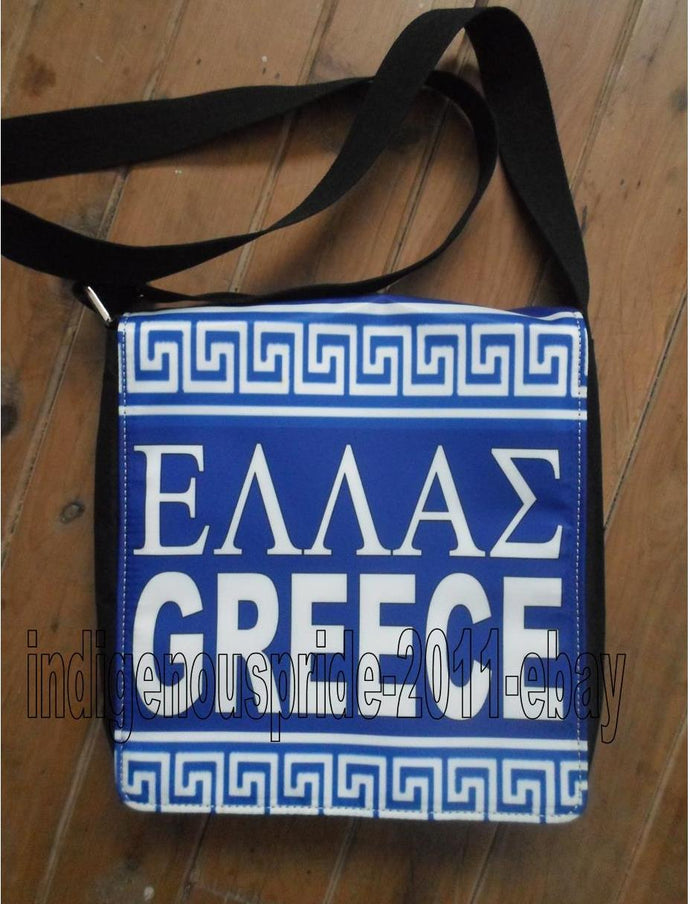 Greece/Greek Flag Shoulder bag-Large