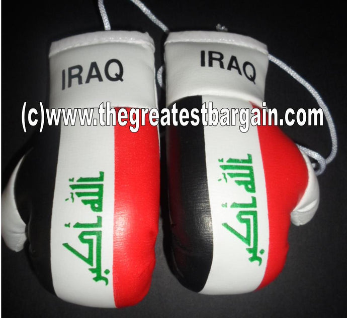 Iraq Flag Mini Boxing Gloves -1