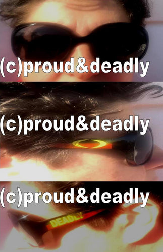 Proud and Deadly Polarised Deadly Sunglasses-Big Lenses