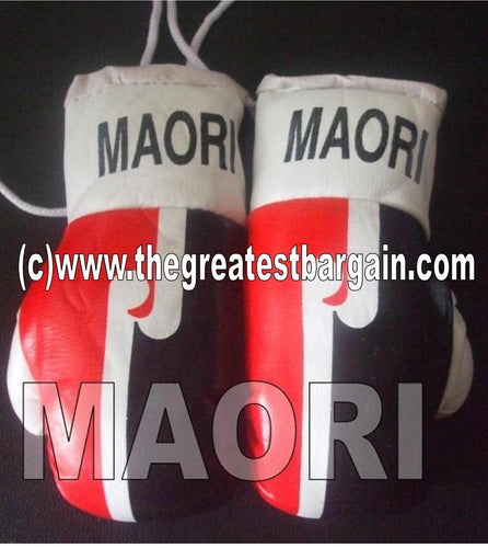 New Zealand Maori Flag Mini Boxing Gloves