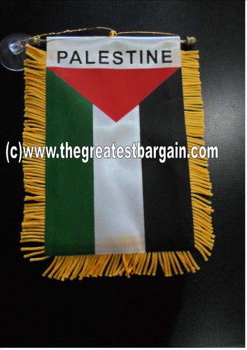Palestine Mini Car Banner