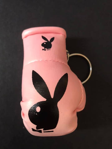 Playboy Pink Mini Boxing glove Keyring