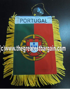 Portugal Mini Car Banner