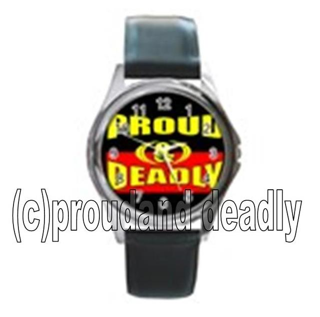 Australian Indigenous Proud and Deadly Unisex Watch