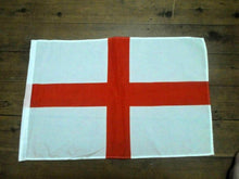 Load image into Gallery viewer, England English Flag Handwaver size. 30 cm x 45 cm without stick. Second 2