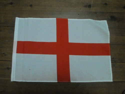England English Flag Handwaver size. 30 cm x 45 cm without stick. Second 3