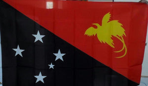 PNG Papua New Guinea National Flag- Large 150 cm x 90 cm