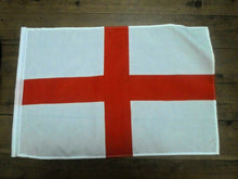 Load image into Gallery viewer, England English Flag Handwaver size. 30 cm x 45 cm without stick. Second 1