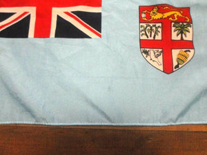 FIJI FIJIAN Flag Handwaver size. 30 cm x 45 cm without stick. Second